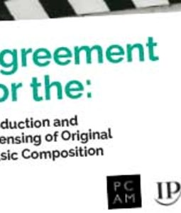 Production Contract: IPA/PCAM Contract/Agreement for the Production and Licensing of Original Music Composition