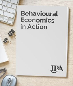 Behavioural Economics in Action: Strategies and Insights from the IPA Effectiveness Awards
