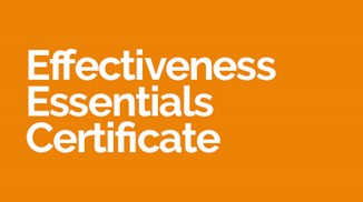 Effectiveness Essentials Certificate
