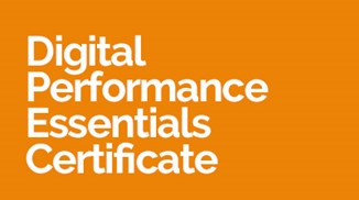 Digital Performance Essentials Certificate