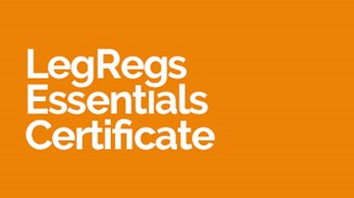 LegRegs Essentials Certificate
