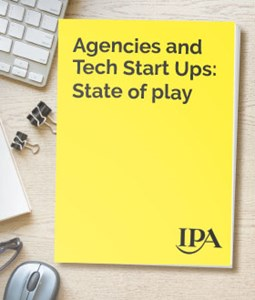 Agencies and Tech Start Ups: State of play