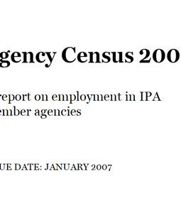 Agency Census 2006