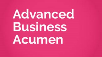 Advanced Business Acumen