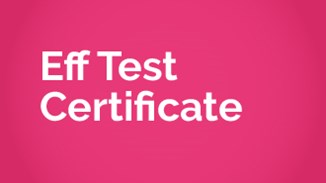 Eff Test Certificate (Global)