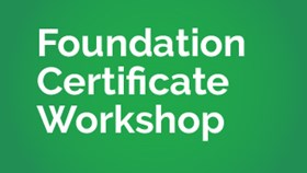 Foundation Certificate Revision Webinar