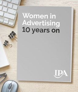 Women in Advertising study 10 years on