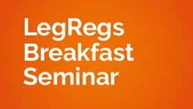 LegRegs Breakfast Webinar: GDPR and Data Protection