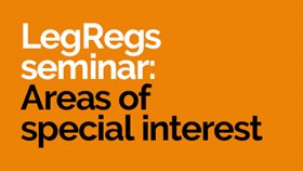 LegRegs Breakfast Webinars - Areas of Special Interest